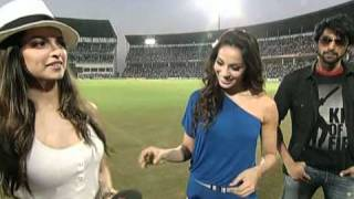 Dum Maro Dum Music Launch / Promotion at Indian vs South Africa Match World Cup 2011