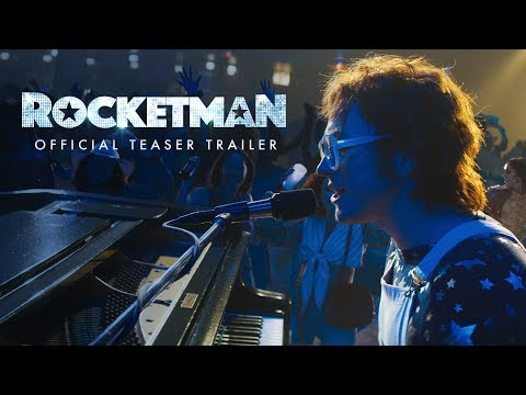 Lisa Berigan - ELTON JOHN: 'ROCKETMAN' MOVIE OUT THIS MAY (Video)