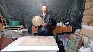 Изготовление магического шлема из стеклопластика!