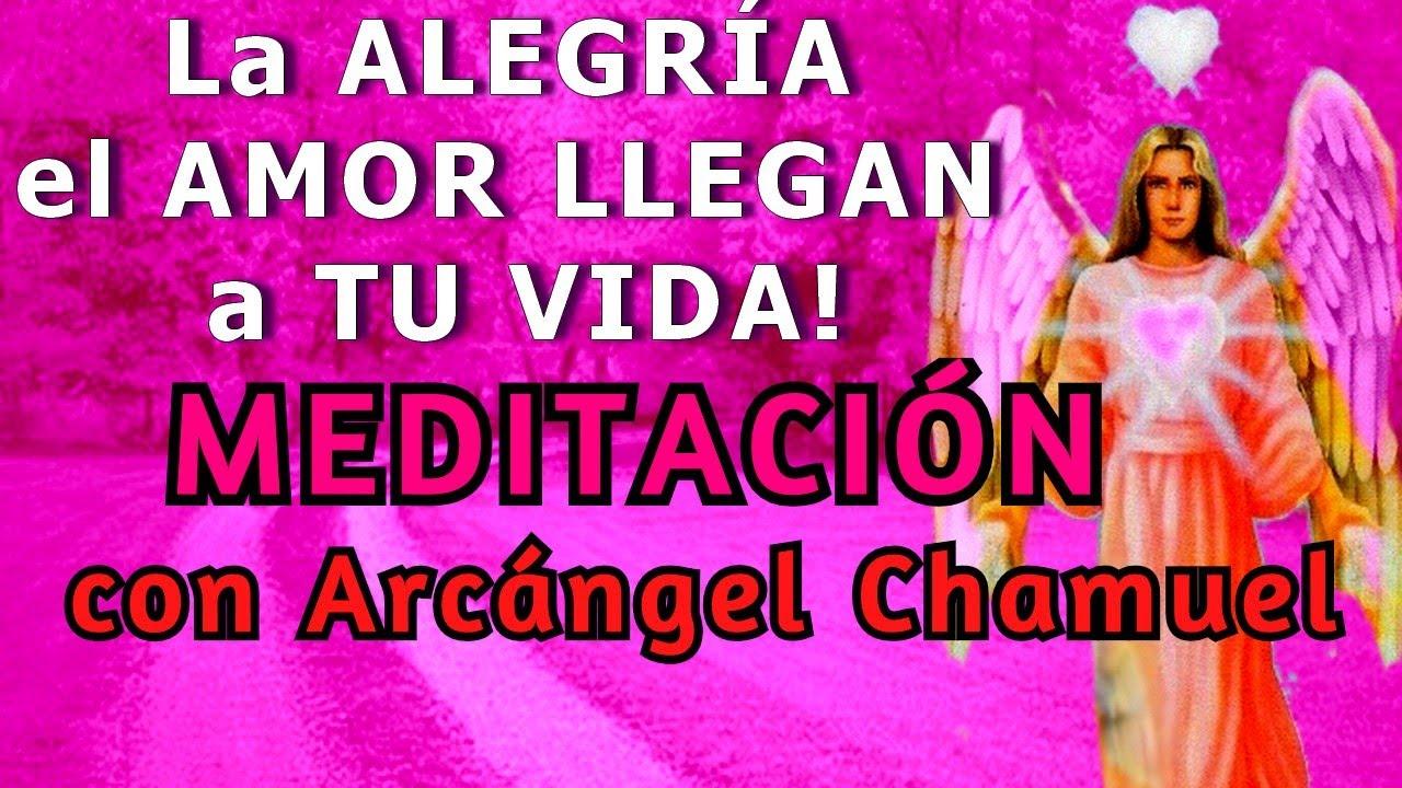 El AMOR Y La ALEGRIA LLEGAN A MI VIDA│ MEDITACION con ARCANGEL CHAMUEL 💗RAYO ROSA💗