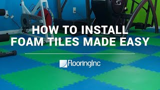 Soft Tile Installation Video