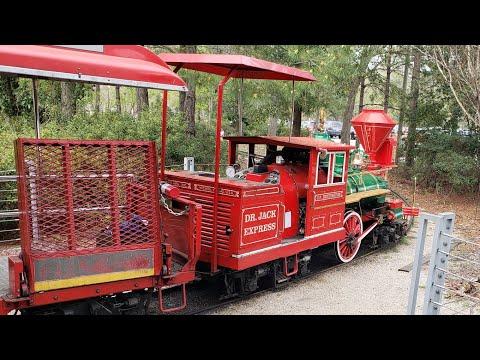 Riding The Hermann Park Railroad In Houston, TX