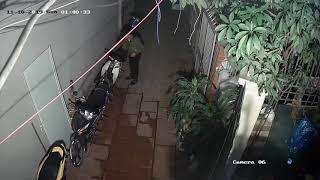 Ăn trộm xe tại ngõ 63 lê đức thọ, mỹ đình ngày 10 tháng 11 năm 2019 clip1