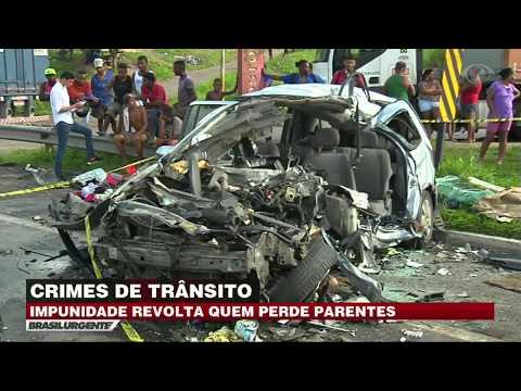 Impunidade em crimes de trânsito revoltam famílias