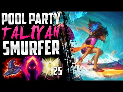 Pool Party Taliyah is the best skin ever!