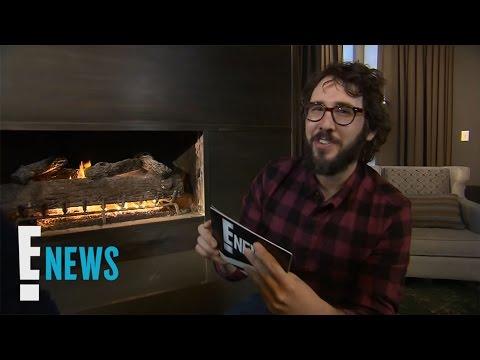 Josh Groban Talks Relationship With Kat Dennings | Celebrity Sit Down | E! News