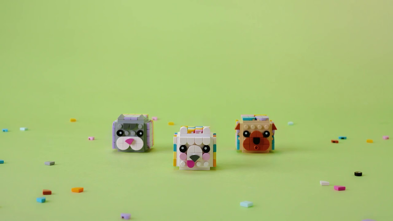 DOTs 41904 423pcs Age 6+ LEGO 41904 Animal Picture Holders