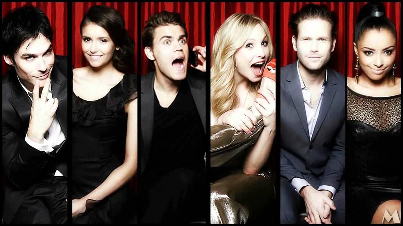 ''The Vampire Diaries TEAM // CAST'' - YouTube
