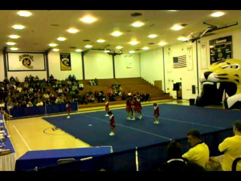 st joseph school cheer competion quinnipiac
