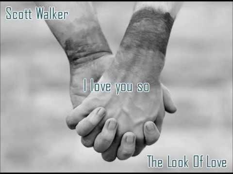 Scott Walker - The Look Of Love (lyrics)