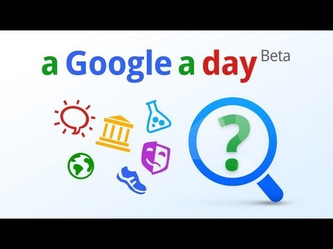 The new A Google a Day on Google+ is here