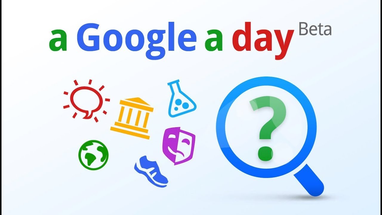 The new A Google a Day on Google+ is here - YouTube