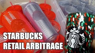 Starbucks RETAIL ARBITRAGE Holiday Cups 2019 | What Sold on eBay