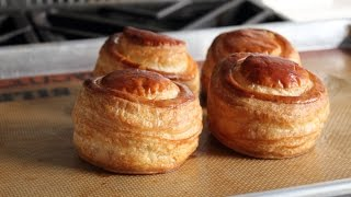 Puff Pastry Shells (Vol au Vents) - How to Make Puff Pastry Cups for Fillings