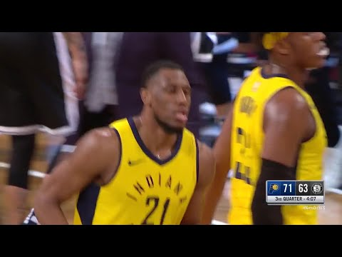 3rd Quarter, One Box Video: Brooklyn Nets vs. Indiana Pacers