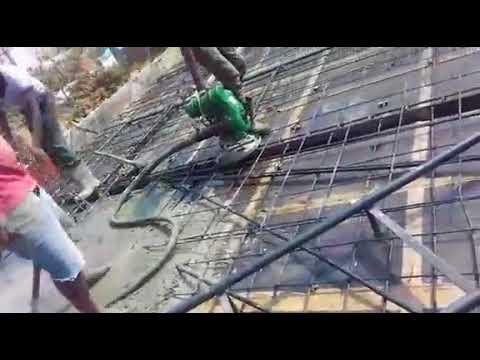 vibrate mixing concrete in belandhur (bangalore)