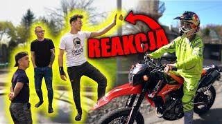 REAKCJA YOUTUBERÓW NA MÓJ NOWY MOTOCYKL!