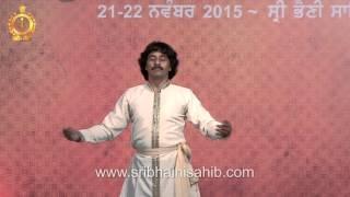 Pandit Rajinder Gangani (Kathak)@4th Satguru Jagjit Singh Sangeet Sammellan 21-22 Nov 2015