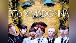BTS X Madonna - Celebrate Your IDOL (feat. Lady GaGa, Pitbull, Nicki Minaj)