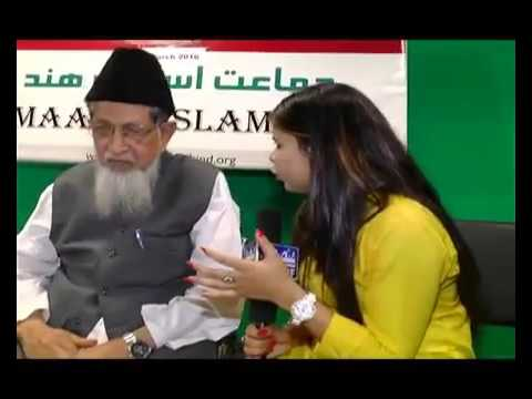 Modi Govt Run From Nagpur.  Mowlana Jalaluddin Umri ;Jamaat-e-Islami Hind All Indi Presedent