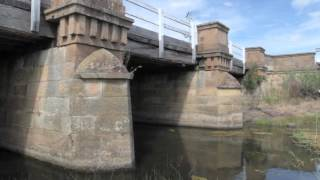 Tunbridge Bridge Tasmania, Australia's Oldest Timber Bridge. Registered Builder And Consultant.