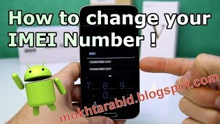 How To Change IMEI Number (Lenovo A1000) (Root)