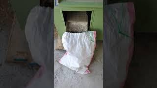 쌀 정미작업(가정용 정미기)