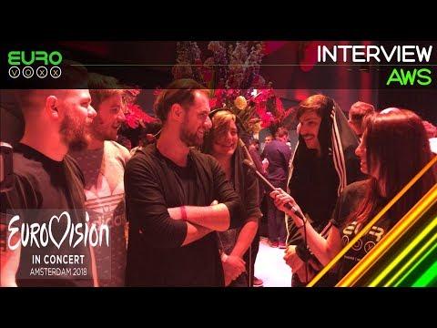 AWS interview (Hungary Eurovision 2018)   Eurovision in Concert   Eurovoxx