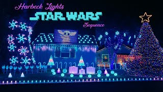 Star Wars Light Show Sequence guest starring Baby Yoda/Grogu