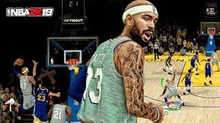Carter vs Curry! BUZZER BEATER POSTERIZER - NBA 2K19 MyCAREER Gameplay | iPodKingCarter