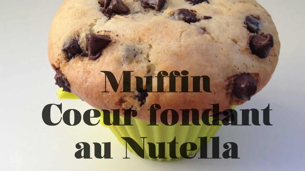 recette facile muffin coeur fondant au nutella. Black Bedroom Furniture Sets. Home Design Ideas