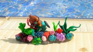 Coral Reef Figurine Tutorial