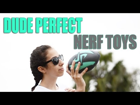 Dude Perfect Nerf Toys – MEGA REVIEW! ( Basketball / Football )
