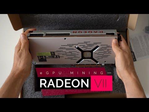 Mining On Radeon VII EGPU + Nicehash Tutorial | Make Over $800 A Year 💰
