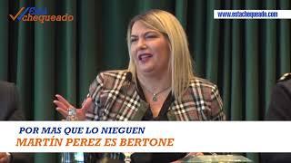 MARTIN PEREZ ES BERTONE