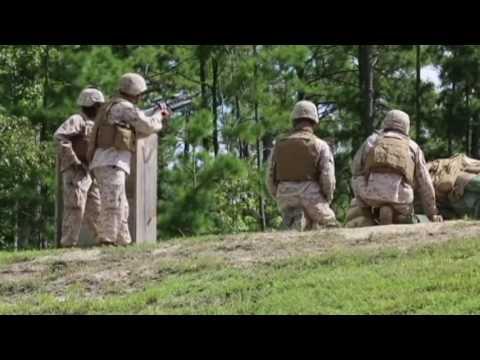 War | US Marines Shooting With The M32A1 Milkor MGL 40mm + M203, M79 & Shotguns
