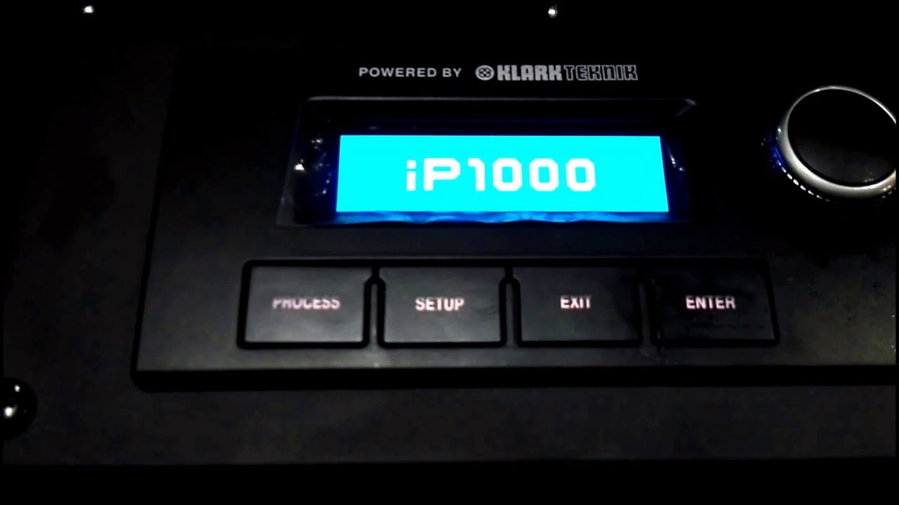 Turbosound IP1000 in AVEM