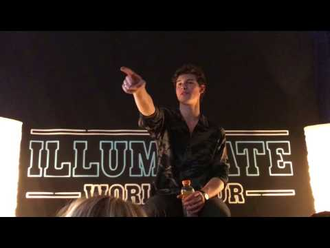 Shawn Mendes Q&A Houston July 22nd 2017