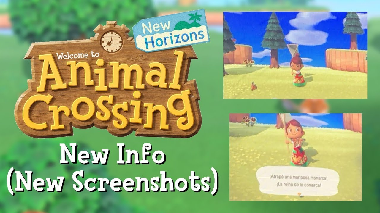 New Info Animal Crossing New Horizons Latin American Translation New Screenshots