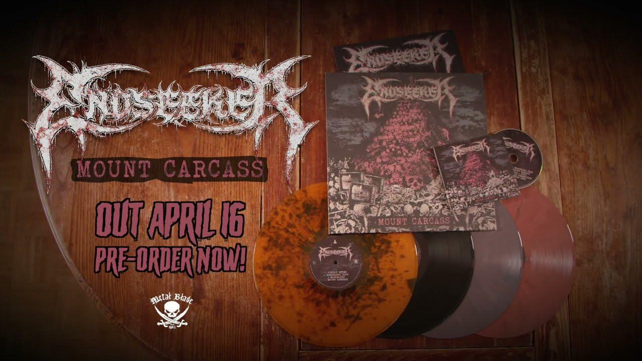 Endseeker - Mount Carcass (unboxing all formats)