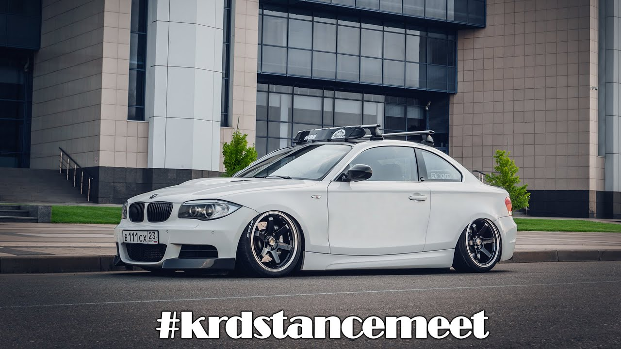 bmw 1 series 135i slammed on accuair stance russia youtube. Black Bedroom Furniture Sets. Home Design Ideas