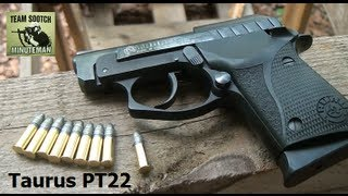 Taurus PT22 22LR Pistol