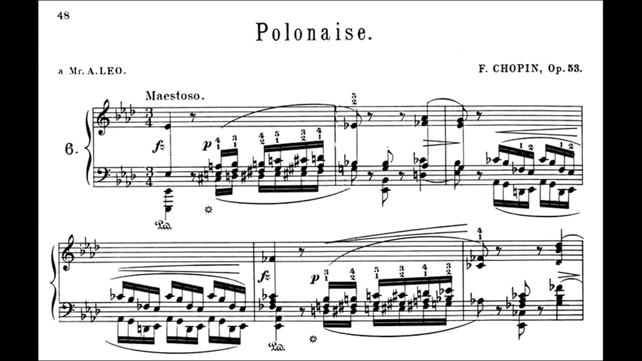 ポロネーズ 楽譜 英雄