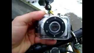 vivitar dvr 781hd action camcorder test bike mount