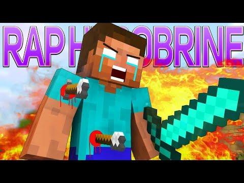 РЭП ХЕРОБРИН В МАЙНКРАФТ (СБОРНИК) | Herobrine Rap Minecraft Song Animation