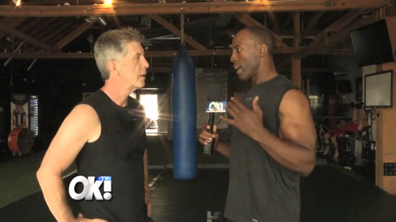 Ron Pitts Gets Workout Tips from Tom Bergeron - YouTube