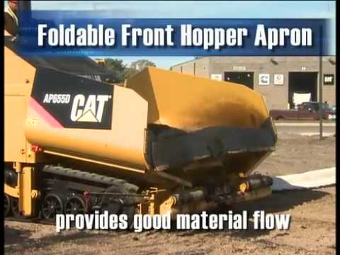 Cat® AP600D And AP655D Asphalt Pavers | Overview