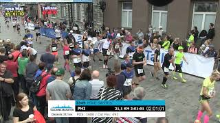 Tallinn Marathon [Tallinna Maraton] 21 km (Estonia; September 9, 2018)