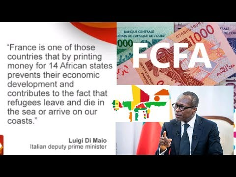 C F A franc west Africa to withraw it reserve from France
