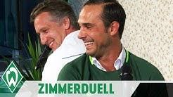 Zimmerduell: Frank Baumann & Alexander Nouri | SV Werder Bremen